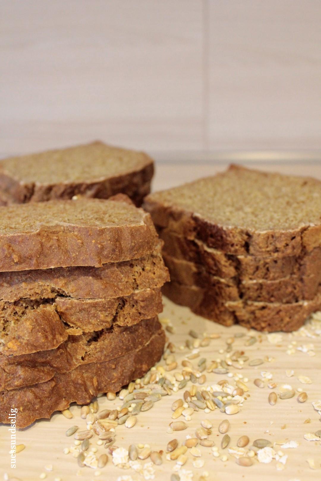 Brot-Schnitten