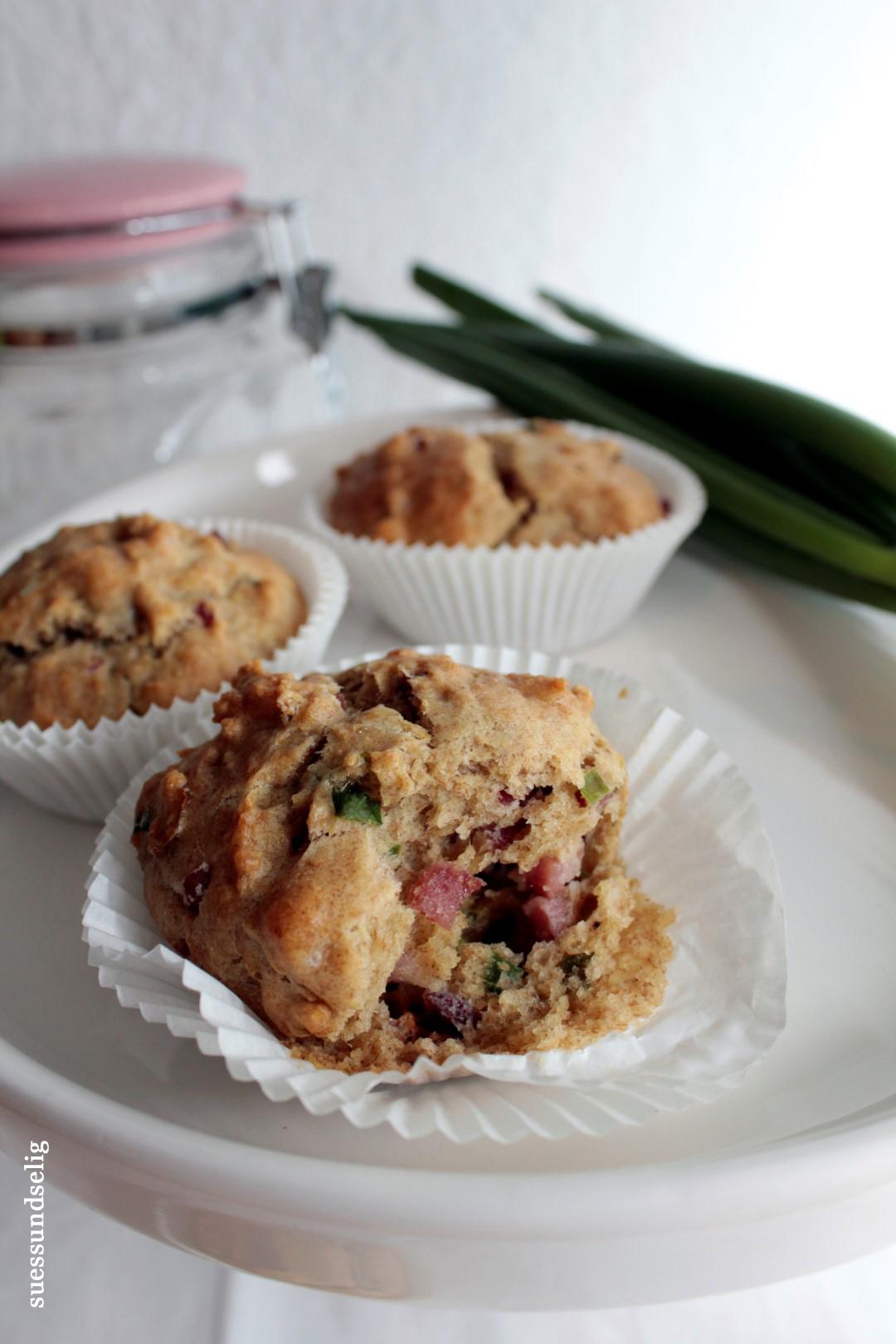 Schinken-Lauch-Muffins