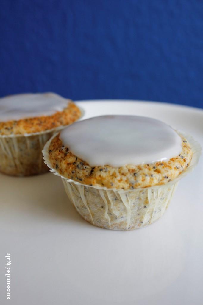 Zitrone-Mohn-Muffins