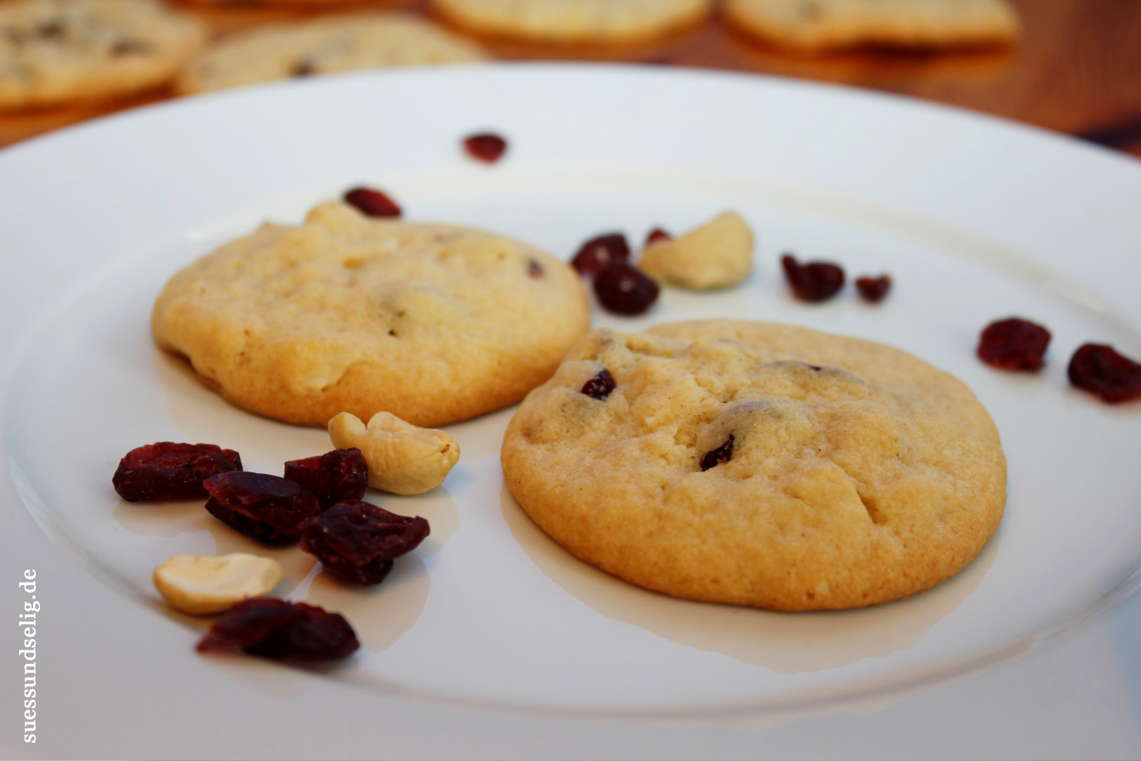 Cranberry-Cashew-Cookies