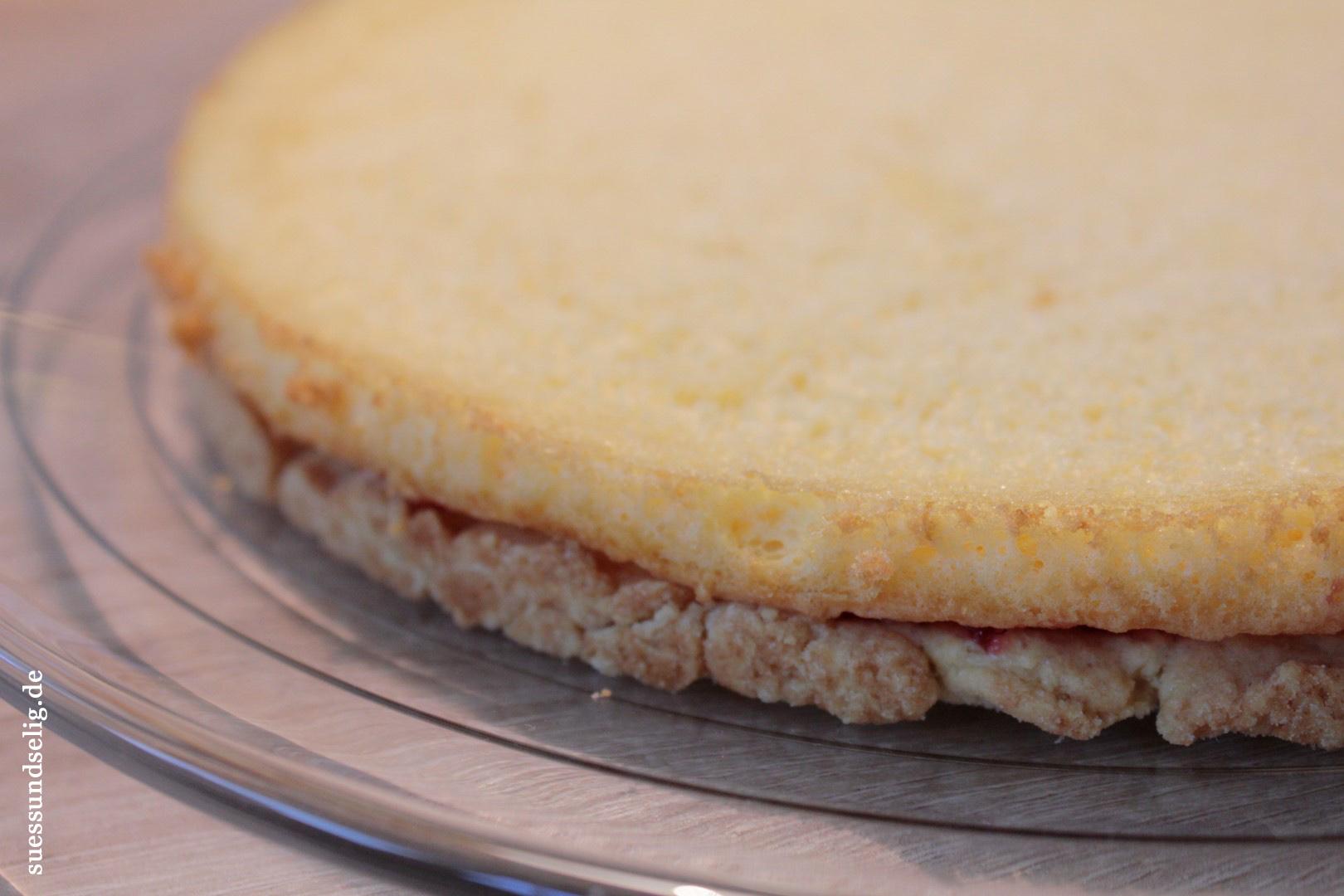 Biskuit kuchen teig