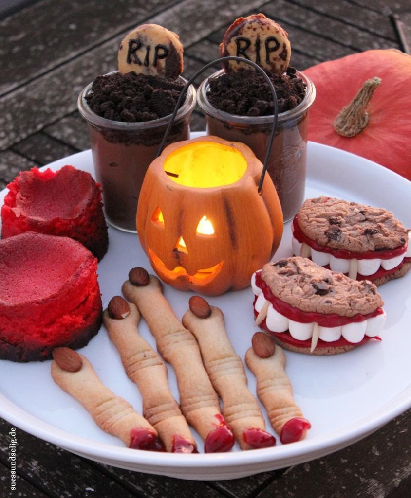 halloween gruselig s e desserts und snacks teil 1 suessundselig. Black Bedroom Furniture Sets. Home Design Ideas