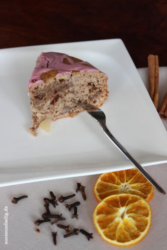 Glühwein-Birnen-Kuchen