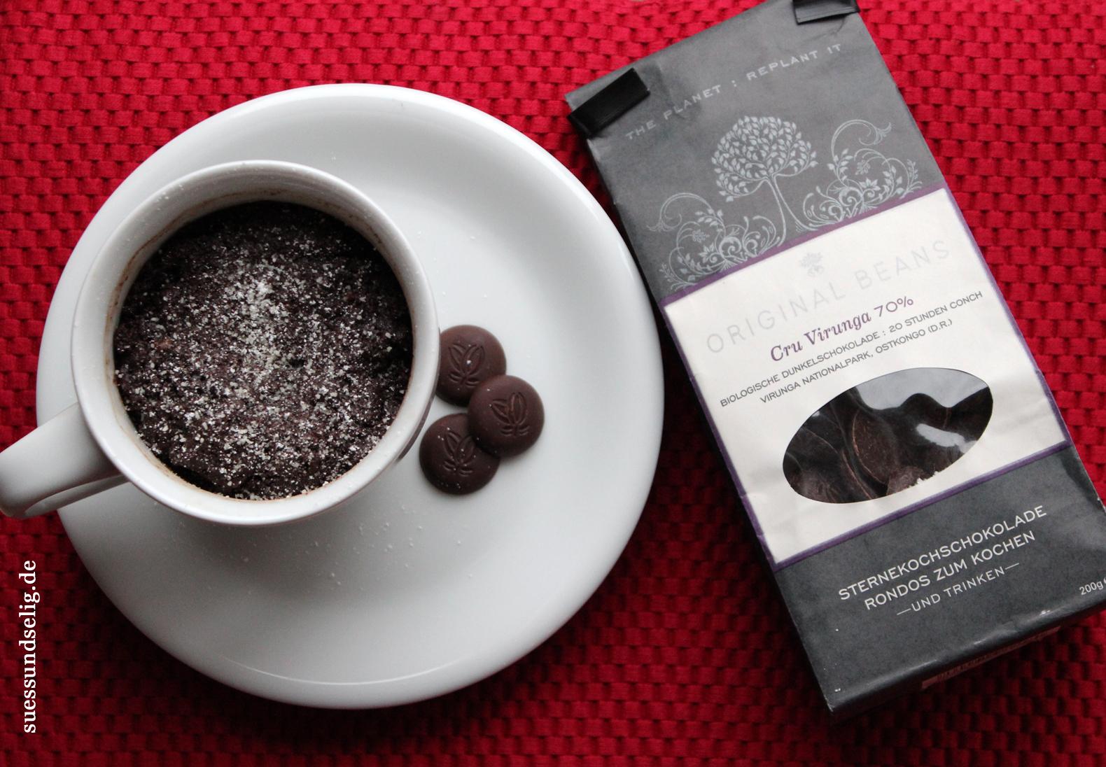 5 t rchen schokokuchen mit fl ssigem kern ein pr sent von chocolats de suessundselig. Black Bedroom Furniture Sets. Home Design Ideas