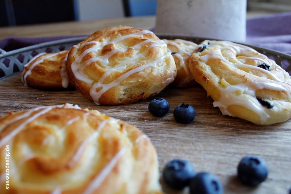 Puddingschnecken mit Blaubeeren Heidelbeeren_2
