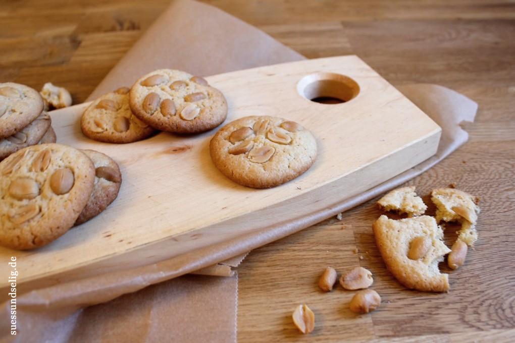 Erdnussplätzchen - salzig und süß