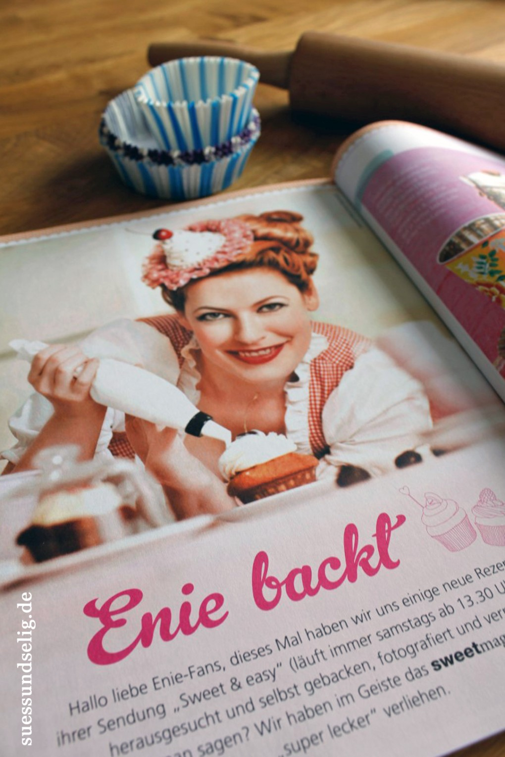 Enie backt in Sweet mag